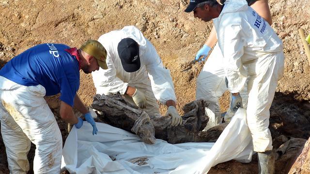 Honderden lijken gevonden in massagraf Bosnië