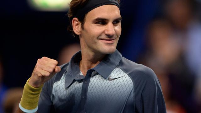 Federer nog twee zeges verwijderd van ATP World Tour Finals