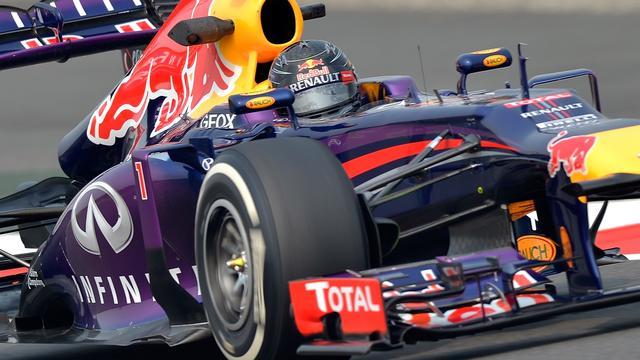 Vettel begint goed aan Grand Prix-weekeinde India