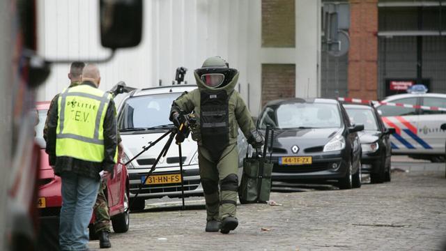 Verdacht pakje Bergen op Zoom was van politieacademie