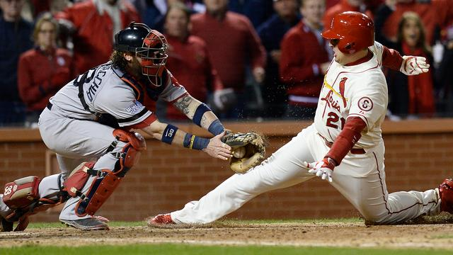 Cardinals winnen na blunder Red Sox in World Series