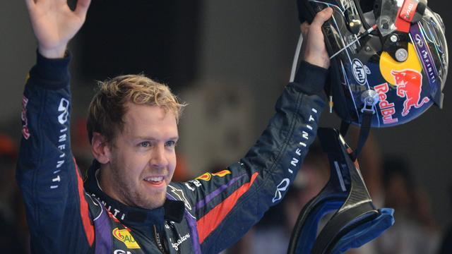 Vettel voor de vierde keer op rij wereldkampioen