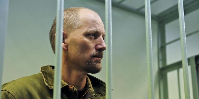 Gevangene Greenpeace schrijft over cel Rusland
