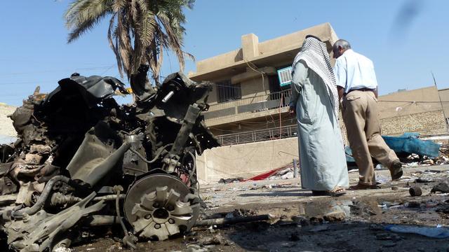 'Bijna honderd doden door aanslagen in Irak'