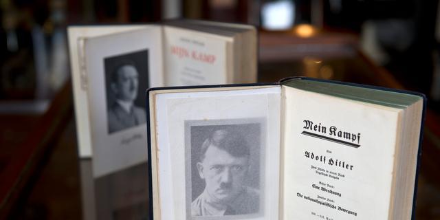 Verkoper Mein Kampf gehoord door politie