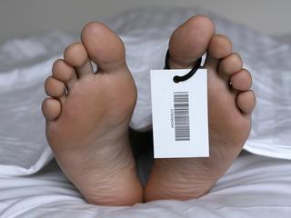 Autopsie zou bijna op de man worden uitgevoerd
