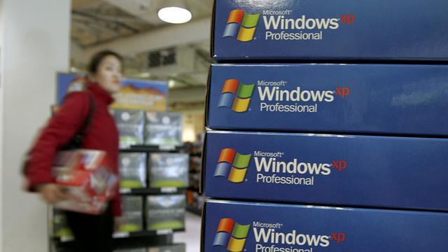Gevaarlijk Windows XP onverminderd populair