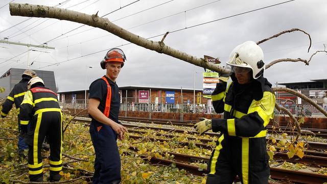 Brandweer ontvangt meer hulpverzoeken door stormen