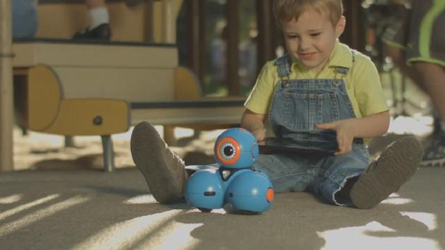 Robots helpen kinderen bij programmeren