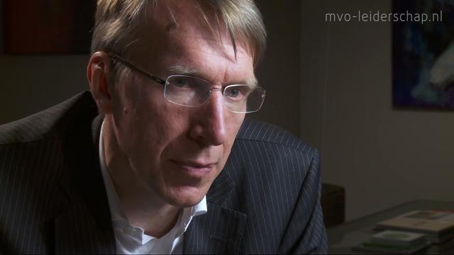 MVO Leiderschap: Peter Molengraaf (video)