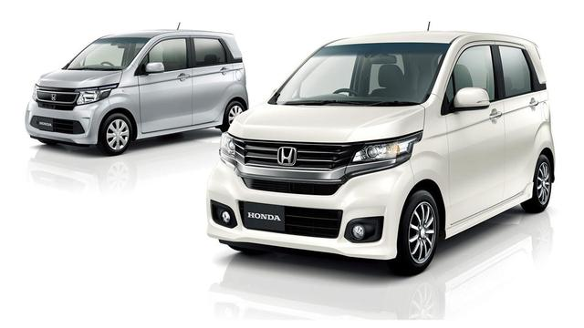 Honda N-WGN in Tokio