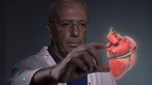 Wetenschappers maken 's werelds dunste hologram