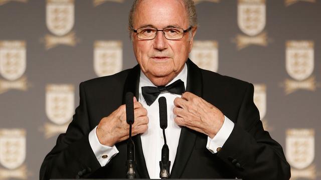 Real Madrid eist excuses Blatter voor Ronaldo-imitatie