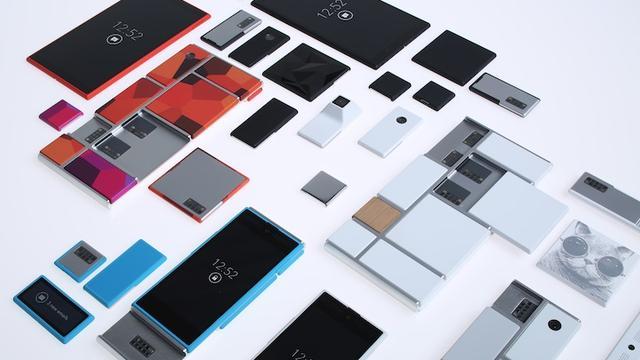 Modulaire smartphone Google komt uit in 2015