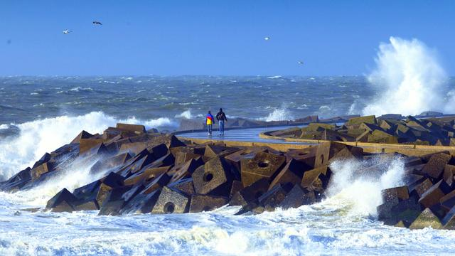 Storm Arthur wordt orkaan aan kust VS