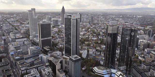 Minder banken in veertien eurolanden