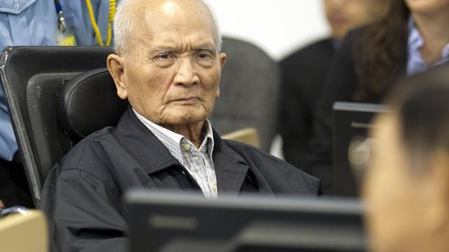 Kopstukken Rode Khmer ontkennen genocide