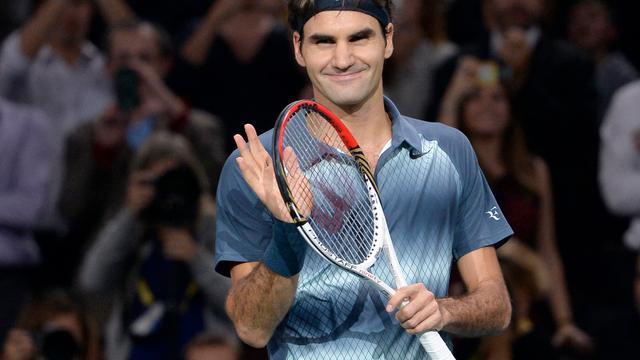 Federer verzekert zich van deelname aan World Tour Finals