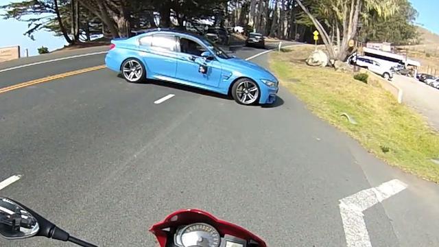 BMW M3 voor het eerst te zien zonder camouflagemateriaal