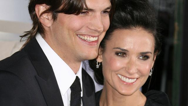 'Demi Moore en Ashton Kutcher tekenen papieren scheiding'