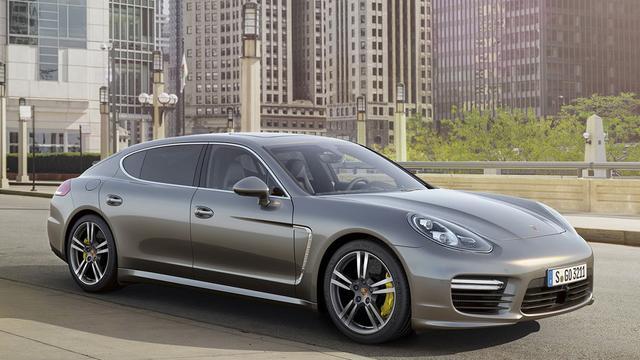 Porsche introduceert Panamera Turbo S
