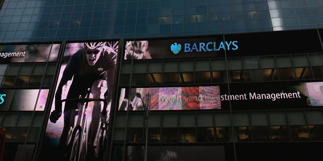 Britse bank Barclays beboet om te lage risico-inschatting