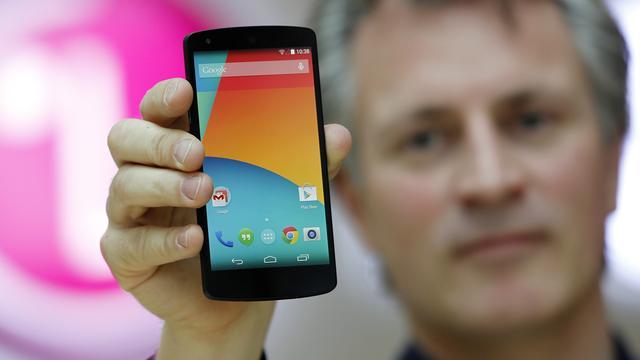 Android Kitkat op 1,1 procent van Androidtoestellen