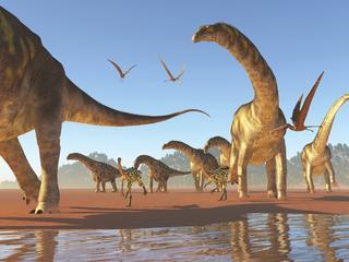 Argentinosaurus legde twee meter per seconde af