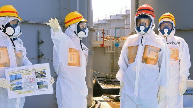 Japan onderzoekt reddingswerkers Fukushima