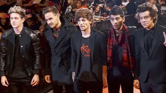 One Direction schrijft hitlijstgeschiedenis in VS