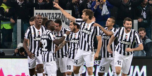 Juventus klopt Napoli, AS Roma speelt opnieuw gelijk