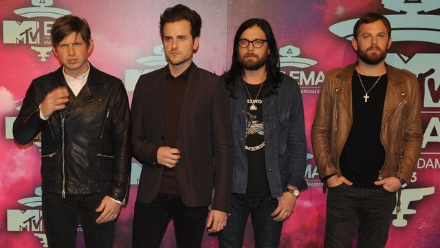 Kings Of Leon geeft concert in Amsterdam