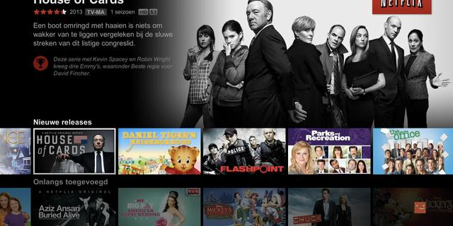 Netflix verandert uiterlijk op tv's en consoles