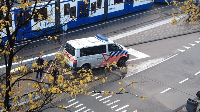Man (20) aangehouden voor serie overvallen in Amsterdam