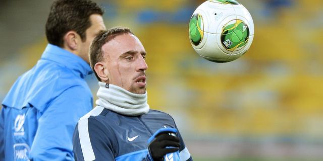 Ribéry op tijd fit voor WK