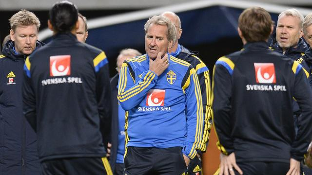 Zweedse bondscoach Hamren vertrekt na EK