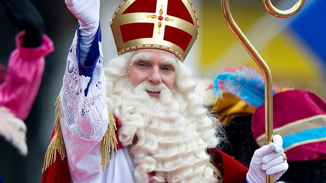 Sinterklaas in Rotterdamse binnenstad