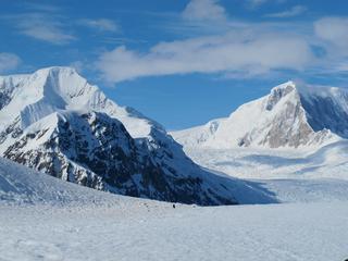 Vulkanische activiteit kan smelten ijs versnellen
