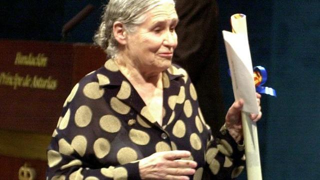 Nobelprijswinnaar Doris Lessing (94) overleden