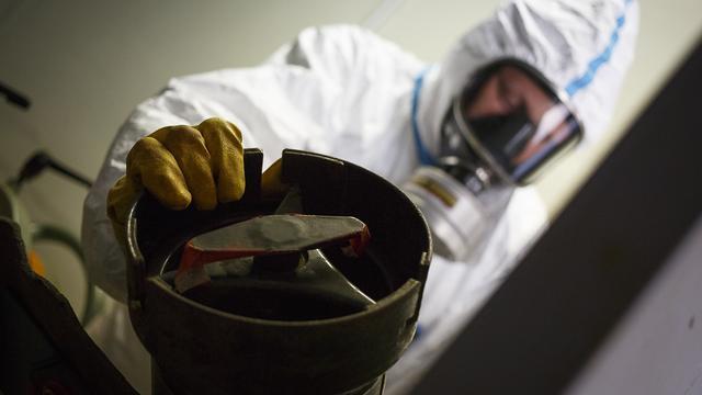 Britten vernietigen chemische wapens Syrië