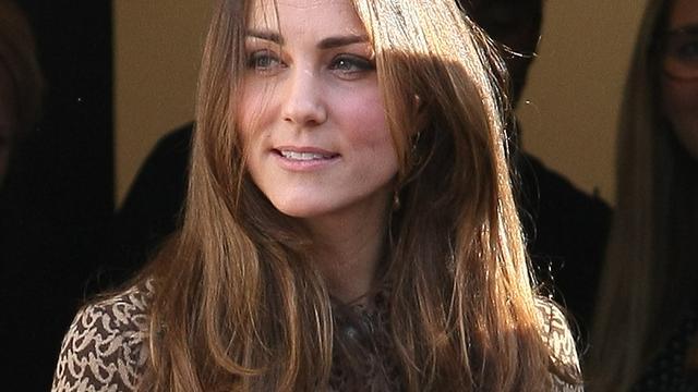Bloot achterwerk van Kate Middleton is gefotografeerd