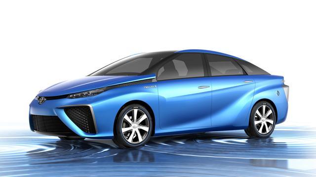Toyota wil 10.000 exemplaren FCV per jaar bouwen