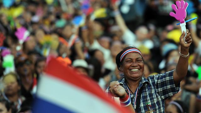 Oproep tot bezetten alle Thaise ministeries