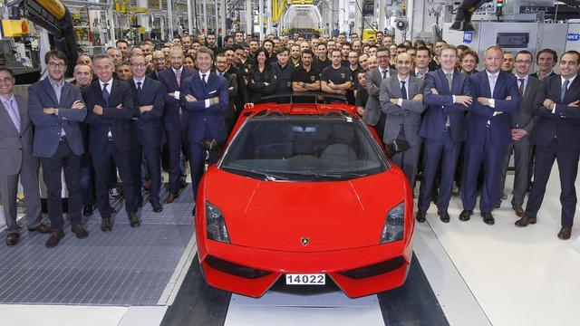 Lamborghini produceert laatste Gallardo