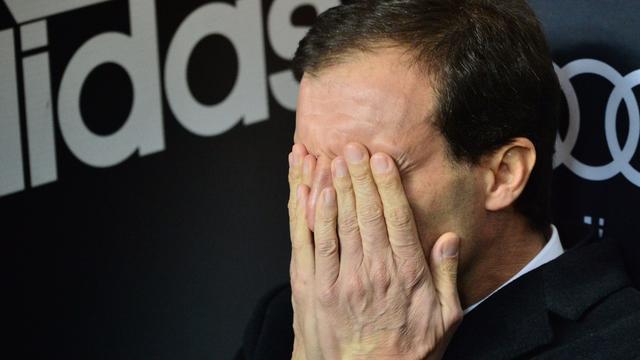 Allegri: 'Natuurlijk zijn de fans van AC Milan teleurgesteld'