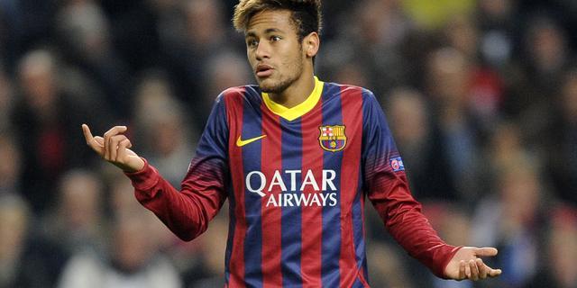 Neymar keert na maand terug bij FC Barcelona