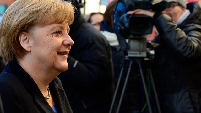 'Merkel niet naar Olympische Spelen in Sotsji'