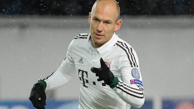 Robben helpt Bayern München aan zege bij CSKA Moskou