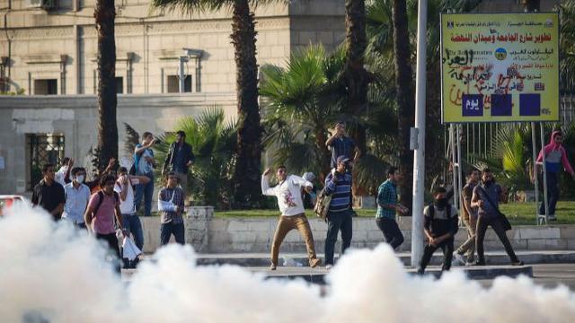 Doden bij studentenprotesten Egypte