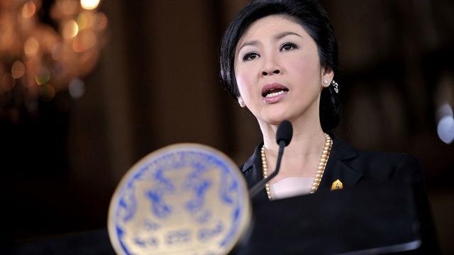 'Ex-premier Thailand niet langer in detentie'